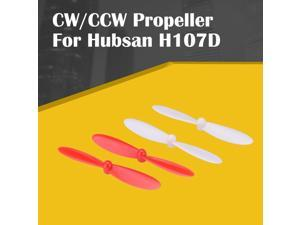 CW/CCW Propellers Spare Blade Main Props Propeller For Hubsan H107D RC Quadcopter 55mm Paddle Blade Drone Accessories