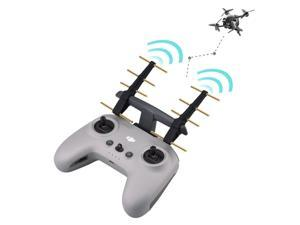 Controller Signal Booster Antenna Range Extender for DJI FPV Remote Controller 2 Transmitter Extension 2.4Ghz Drone
