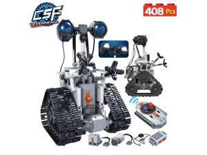 City Creative RC Robot Electric Building Blocks Technic Remote Control Intelligent Robot Bricks Toys Children 408PCS