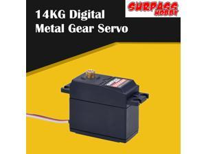 Hot Sale SURPASS Hobby S0900M Metal Gear 14KG Digital Servo for RC Airplane Robot 1/10 1/8 RC Monster Car Boat Duct Plane