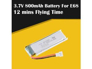Good Sale Battery E68 Drone 2 RC Drone 3.7V 800mAh Lipo Battery Quadcopter Spare Parts Accessories Rechargeable Battery