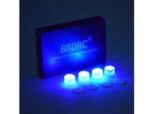 4PCS Universal Night Flight Light For DJI Mavic Air 2/Mini/Mini 2/Pro/Spark/Mavic 2 Pro Zoom/Phantom 3/4 FPV Combo Accessory