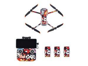 DJI Mavic Air 2S Drone Stickers PVC Waterproof Skin Protective Film for DJI Mavic Air 2S Remote Controller Battery Camera Decals