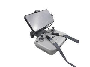 Portable Foldable Expansion Bracket for DJI Mavic Air 2/Air 2S/Mini 2 Remote Control Tablet Phone Holder With Strap