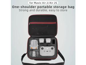 Storage Bag for DJI Mavic Air 2/Air 2S Drone Carrying Case PU/Nylon Shoulder Case Protective Handbag Backpack Drone Box Parts
