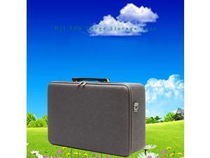 Suitcase Portable Travel Carrying Case Shoulder Messenger Bag DJI FPV Combo Handbag With Shoulder Strap Waterproof Gray EVA(random color)