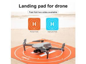 50CM DJI Drone Fast-fold Luminous Parking Apron Foldable Landing Pad For DJI Mavic Mini 2/Mavic Air 2 RC Quadcopters Accessories