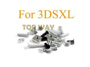 10SETS  Full Set Screw Sets Replacement for 3DS XL 3DS LL Game Console For 3DS LL Full Set Screw Sets Replacement