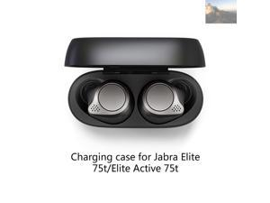 Wireless Earphones Charging Case for Jabra Elite 75t/Elite Active 75t Bluetooth Earbuds Charger Box Dust-Proof Protector