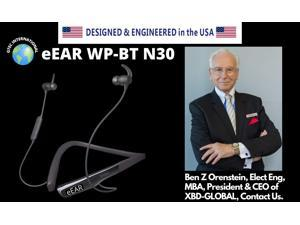eEAR WP-BT N30 The Best Waterproof + Bluetooth Hearing Aids and Wireless Bluetooth Hearphones All in One Available and Affordable