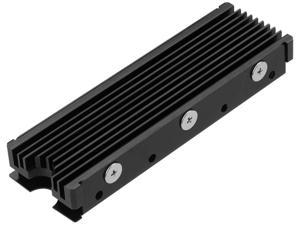 M.2 2280 SSD heatsink, Double-Sided Heat Sink, Matching Thermal Silicone pad for PCIE NVME M.2 SSD or SATA M.2 SSD