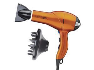 INFINITIPRO BY 1875 Watt Salon Performance AC Motor Styling Tool/Hair Dryer, Orange