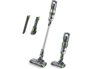 Cordless Vacuum Cleaner - Up to 40 Min Runtime, 4 in 1 Stick Handheld Vacuum Cleaner with Powerful Motor LED Headlights for Home Hard Floor Carpet Car Pet