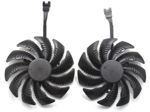 88mm T129215SU P106-100 Graphics Card Cooling Fan for Gigabyte GTX 1050 Ti RX 480 470 570 580 GTX 1060 G1 Gaming Cooler (Fan-AB)