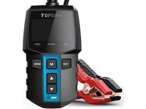 Car Battery Tester 12V Load Tester,  BT100 100-2000 CCA Automotive Alternator Tester Digital Auto Battery Analyzer Charging Cranking System Tester for Car Truck Motorcycle ATV SUV Boat Yacht