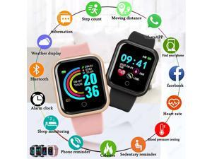 Smart Watches Men Women Smartwatch Heart Rate Step Calorie Fitness Tracking Sports Bracelet For Apple Android Smart Watch