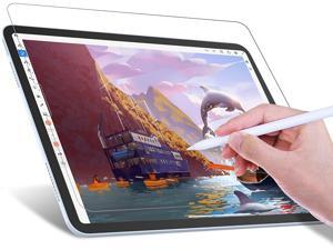 JETech Write Like Paper Screen Protector Compatible with iPad Air 4 10.9-Inch, iPad Pro 11-Inch All Models, Anti-Glare, Matte PET Paper Film for Drawing