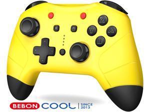 BEBONCOOL Switch Controller for Nintendo Switch/Switch Lite, Switch Pro Controller with Turbo Function Switch Wireless Controller for Nintendo Console, Unique Color Switch Remote