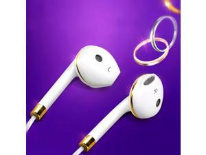 Universal In ear Earphone Headset For iPhone 3.5mm Wired Stereo Sound Headphones With Mic Headphone For Xiaomi Samsung Earbuds