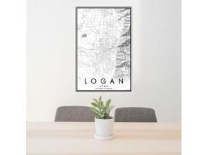 Logan - Utah Classic Map Print