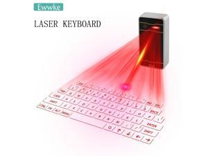 Bluetooth virtual laser keyboard Wireless Projection mini keyboard Portable for computer Phone pad Laptop With Mouse function