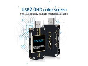 FNB38 Current Voltage Meter USB Tester QC4+ PD3.0 2.0 PPS Fast Charging Protocol Capacity Testing Device Monitor