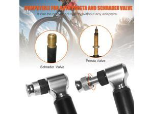 Portable Bike 300PSI Manual Air Pump Inflatable Cylinder  Pressure Hand Pump Suspension Front Fork Bicycle Equipment