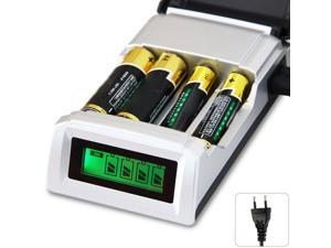 LED Display 4 Ports Batteries Charger Toys Electronics High Quality Universal AAA AA Battery Charger