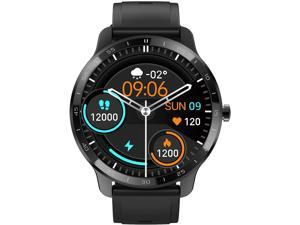 2021 New Version Smart Watch for Android Phones Compatible with iPhone Samsung, Fitness Watch with Heart Rate Monitor and Sleep Monitor, Step/Distance/Calorie Counter smartwatch for Men Women