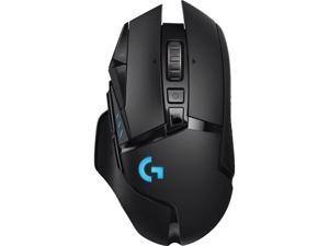 Logitech G502 Lightspeed Wireless Gaming Mouse with Hero 25K Sensor, PowerPlay Compatible, Tunable Weights and Lightsync RGB - New