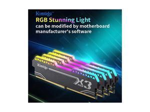 Kimtigo X3 RGB 16GB (2 x 8GB) 288-Pin DDR4 SDRAM DDR4 3200 (PC4 25600) Desktop Memory