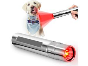 Pet Red Light Therapy Petneces Infrared Light Therapy 3 LED 630nm 660nm 850nm Red Light Device for Skin and Joint & Muscle Pain Relief with free gift