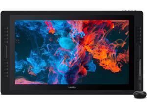 2020 HUION Kamvas Pro 24 Drawing Monitor 2.5K Resolution QHD Pen Display Full Laminated Screen Anti-Glare Glass 20 Express Keys with Dual Touch Bar Battery-Free Stylus 8192 Pressure Sensitivity-23.8in