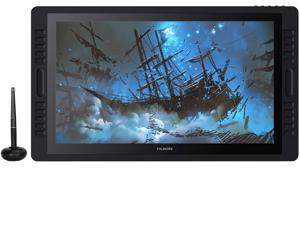 2019 Huion KAMVAS Pro 22 Graphic Drawing Monitor Pen Display Tilt Function Battery-Free Stylus 8192 Pen Pressure with 20 Express Keys and 2 Touch Bars - 21.5 Inches