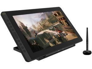 2021 HUION KAMVAS 16 Graphics Drawing Tablet with Full-Laminated Screen Anti-Glare 10 Express Keys Android Support Battery-Free Stylus 8192 Pen Pressure Tilt Adjustable Stand - 15.6 Inch Pen Display