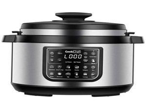 12-in-1 Electric Pressure Cooker 8 Quarts  Instant Digital Pressure Pot