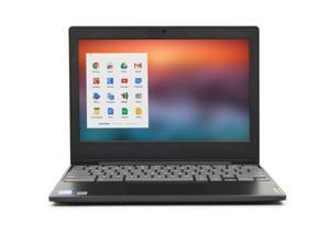 "Lenovo IdeaPad Chromebook 3 Celeron N4020 Dual-Core 1.1GHz 4GB RAM 32GB SSD 11.6"" Chrome OS w/Cam & BT (Onyx Black)"