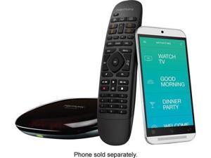 Logitech - Harmony Companion (Remote Control and Smart Hub) - Black