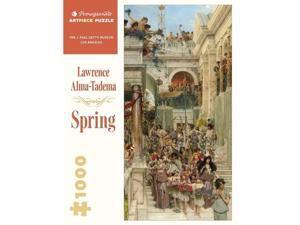 Lawrence Alma-Tadema: Spring 1000-Piece Jigsaw Puzzle