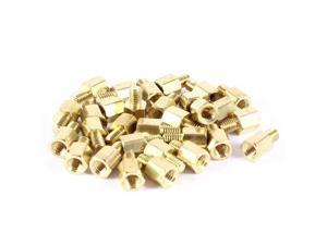 Unique Bargains 30 Pcs PCB Motherboard Standoff Hex Spacer Screw Nut M3 Male 4mm to Female 5mm