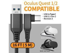 16FT (5m) Oculus Quest 2 VR headset Link Cable USB to Type-C Cable