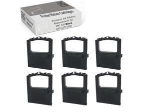 Compatible with Okidata 42377801 Oki Microline 420 Black 6 Pack
