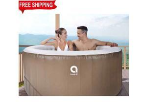 hot sale 110volt  outdoor Portable spa whirlpool person hot tub inflatable spa with 3 adults