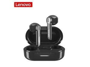 Lenovo HT08 TWS Bluetooth Earphones True Wireless Headset Hifi Sound Sport Headset Stereo Touch Control Bluetooth Headphones Earbuds Support Voice Assistant For iphone Xiaomi huawei IOS/Android Phone