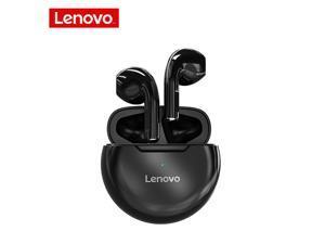 Original Lenovo HT38 TWS Bluetooth Earphone 9D Stere Wireless Bluetooth Headphones AI Control Mini Earbuds Stereo bass With Mic Waterproof White