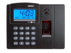 Pyramid Time Systems, Pyramid TimeTrax Elite TTELITEEK Automated Biometric Fingerprint Time Clock System with Software Download, Windows Compatible, Made in USA, Black