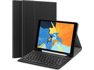 iPad Keyboard Case for 10.2 iPad 8th Gen(2020)/7th Gen(2019), 10.5 iPad Air 3 2019 /iPad Pro 10.5 2017 Case with Keyboard - Detachable Wireless Bluetooth Keyboard Slim Smart Cover