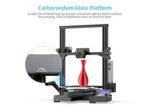Official Creality Ender 3 Max 3D Printer 300 x 300 x 340mm, 2020 Newest All Metal FDM 3D Printer with Larger Glass Bed Silent Mainboard All Metal Extruder Smart Sensor Dual Cooling Fans
