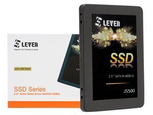 "LEVEN SSD 2TB 3D NAND TLC SATA III Internal Solid State Drive - 6 Gb/s, 2.5 inch/7mm (0.28"") - up to 560 MB/s - Compatible with Laptop & PC Desktop - Retail 1 Pack - (JS500SSD2TB)"