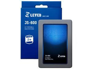"""LEVEN SSD 1TB 3D NAND TLC SATA III Internal Solid State Drive - 6 Gb/s, 2.5 inch /7mm (0.28"""") - up to 560MB/s - Compatible with Laptop & PC Desktop - Retail 1 Pack - (JS600SSD1TB)"""
